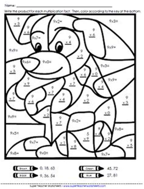 Division Color By Number Sailboat Second Grade Math Coloring Pages 4th Grade
