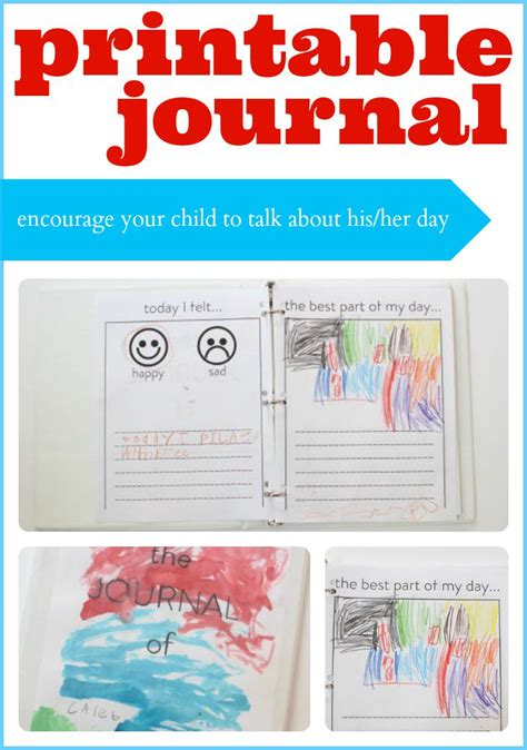printable science journal kindergarten printable journal for kids get your child to communicate