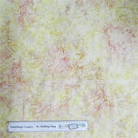Batik Patchwork Fabric - quilting patchwork sewing fabric citrus swirls batik