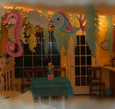 Mermaid Decoration Ideas by Mermaid Supplies Mermaid Birthday