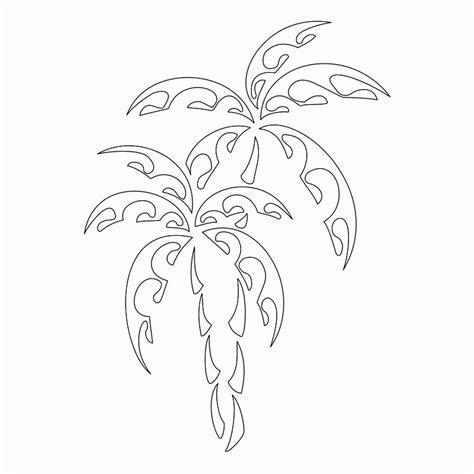 cartoon wave tattoo cartoon palm tree images coloring home