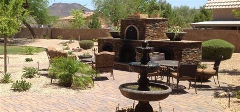Desert Landscape Ideas For Backyards by Arizona Backyard Landscaping Desert Landscaping