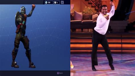 fortnite dances fortnite in real the carlton