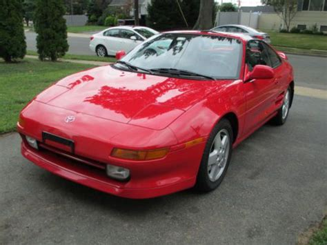 where to buy car manuals 1995 toyota mr2 security system sell used 1995 toyota mr2 turbo super red 47k miles no paintwork clean carfax in hillside new