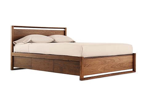 dwr beds matera bed with storage design within reach