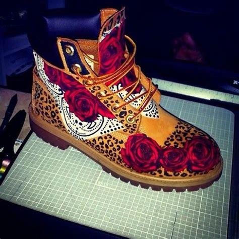 custom timberlands shoe