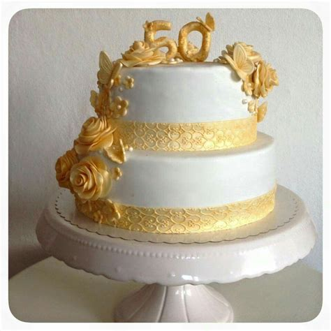 hochzeitstorte goldene hochzeit pin corinna steinhausen auf kuchen
