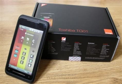 Hp Toshiba Tg01 toshiba tg01