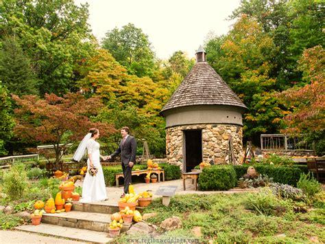 Fernwood Botanical Garden by Fall Wedding At Fernwood Botanical Garden Region Weddings