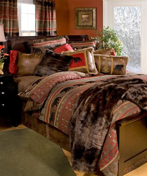 Wilderness Comforters by Wilderness Bedding Rustic Chenille Collection