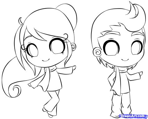 how to draw person draw a chibi person step by step drawing sheets added