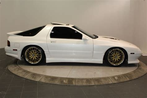 1989 mazda rx 7 1989 mazda rx 7 gtu 2 door hatchback coupe white for sale