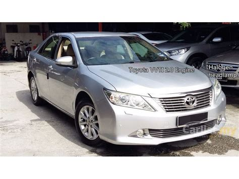 Toyota Camry V 2013 toyota camry 2013 e 2 0 in selangor automatic sedan silver
