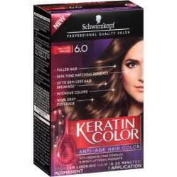 keratin hair color schwarzkopf keratin color anti age hair color kit 6 0