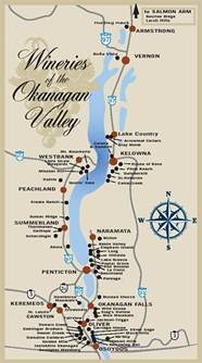 wineries of the okanagan valley map discover okanagan tours