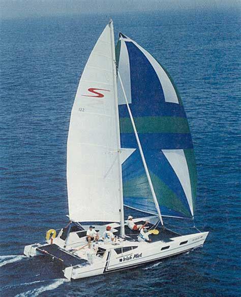 stiletto catamaran interior 1986 stiletto 30 catamaran for sale by jan guthrie yacht