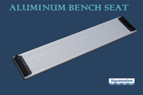 aluminum bench seating aluminum bench seat for 12 5 inflatable boat dinghy 39 5