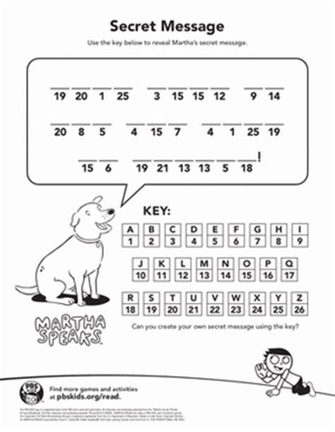 secret message worksheet martha s secret message kindergarten phonics