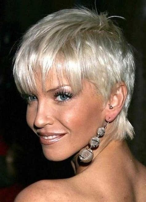 platinum hair over 50 2018 popular platinum blonde short hairstyles
