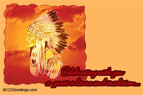 Native American Heritage Month Cards, Free Native American