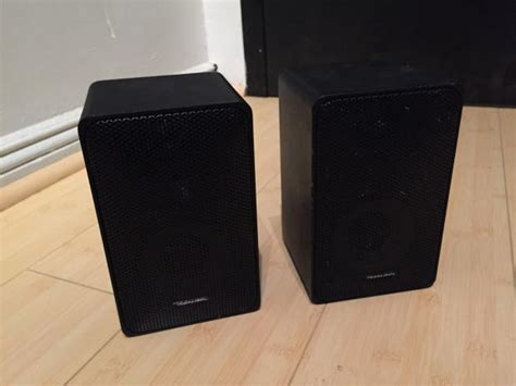 radio shack realistic minimus 7 bookshelf speakers reverb