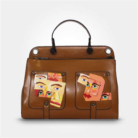 does acrylic paint work on canvas bags acrylic painted bag faces telamoda