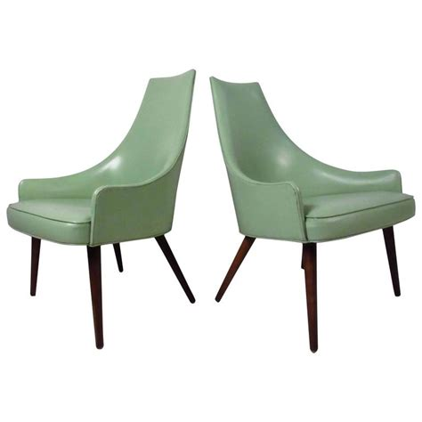unique armchairs unique pair of midcentury highback armchairs for sale at