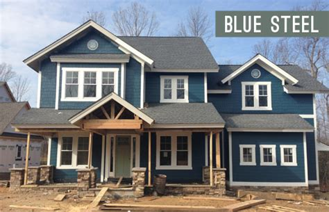 blue gray exterior paint colors colonial house northport n y painted with cabot s slate gray
