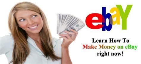 Make Money Online Ebay - money networks ways to earn money learn how to make money online