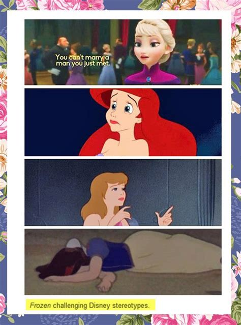 imagenes memes frozen for everyone who criticizes disney stereotypes disney