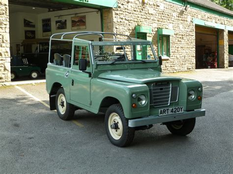 land rover green 420y 1982 pastel green series iii galvanised