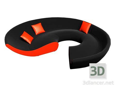 walter knoll circle sofa 3d model circle sofa walter knoll download for free