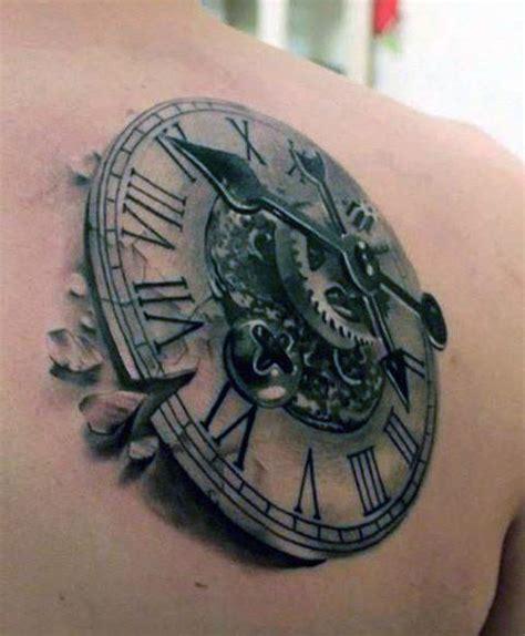 tattoo 3d zegar tatuaż 3d zegar tattoos pinterest tattoo and piercings