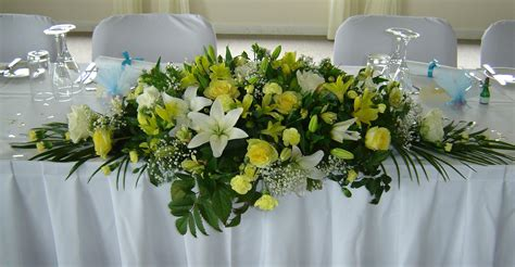Wedding Table Flower Arrangement by Wedding Flowers Packages S Floral Designs Florist