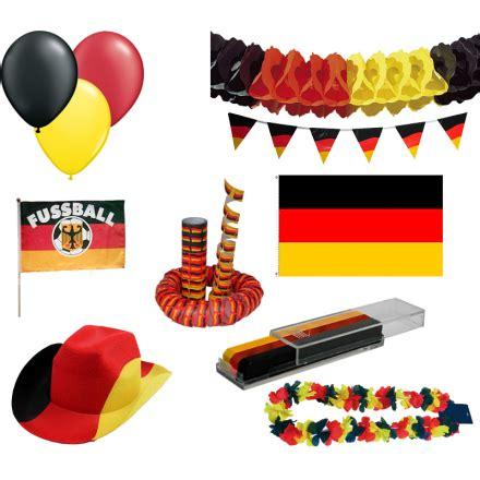 deutschland deko deko set quot deutschland fu 223 em quot 48 teile