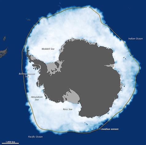 climate change s surprising effect shrinking now there s more at south pole than so much for