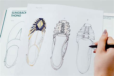 design a shoe template footwear made for walking stationery made for sketching