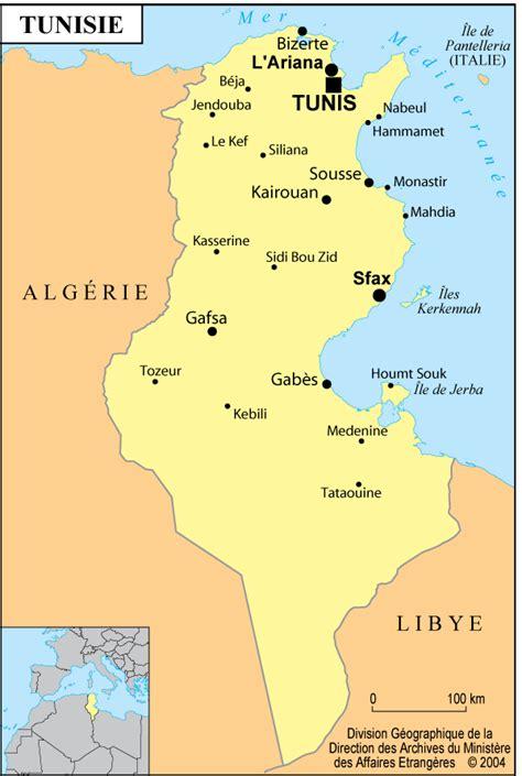 pr233sentation de la tunisie