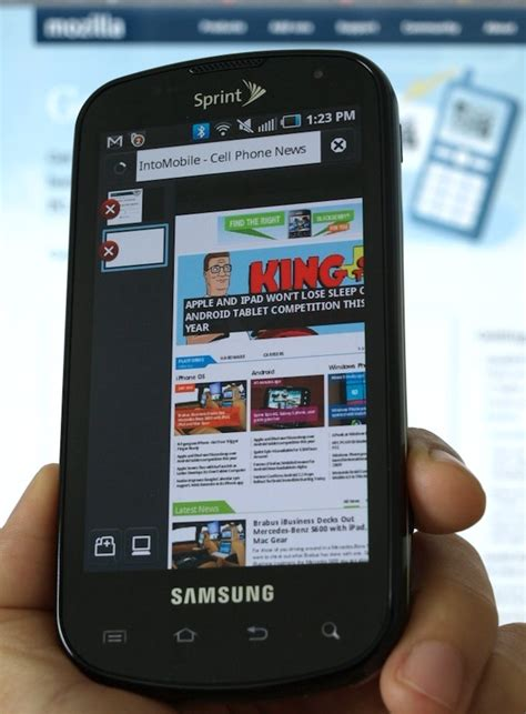 mobile firefox browser samsung mobile browser in the works release to rival