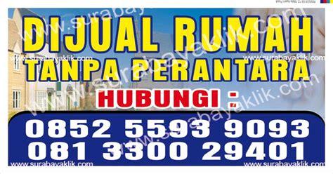 smart advertising spanduk rumah dijual