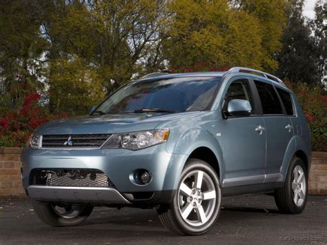 mitsubishi outlander 2007 price 2007 mitsubishi outlander suv specifications pictures prices