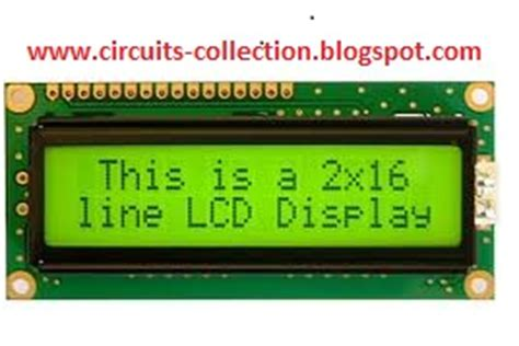 Lcd Dot Matrix 2 X 16 Hitachi M1632 With Back Light lcd interfacing my circuits collections