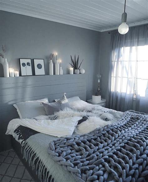 warna cat kamar tidur sempit abu abu dekorasi kamar