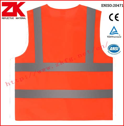 Warp Packaging For Your Safety ansi isea107 quality high visibility safety vest
