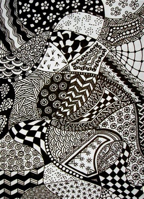 pattern drafting ideas zentangle doodle flickr photo sharing