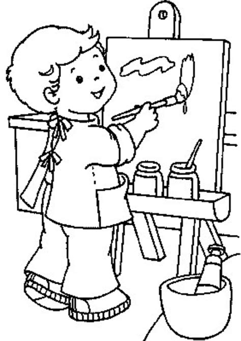 transmissionpress child artist kids coloring pages