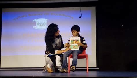lkg parent child story telling competition vydehi school