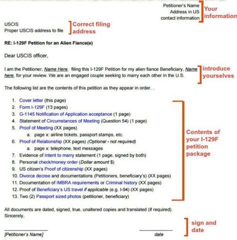 i 129f cover letter sle k 1 visa 171 visa tutor