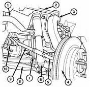 RAM Truck 1500 4&2154 Front Suspension Parts Diagram Car