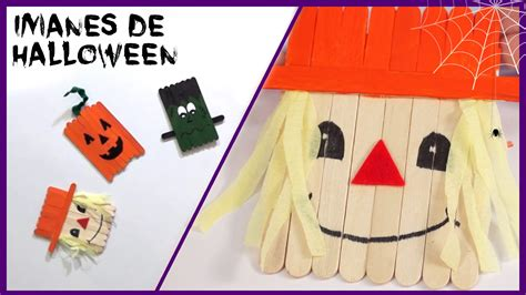 decoracion nevera halloween im 225 n espantap 225 jaros para la nevera manualidades de